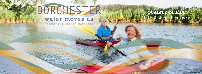 Dorchester County's economic development branding campaign features people who live, work and start businesses in the heart of the Chesapeake.