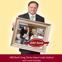 ad campaign 1880 Bank Lindy's seafood