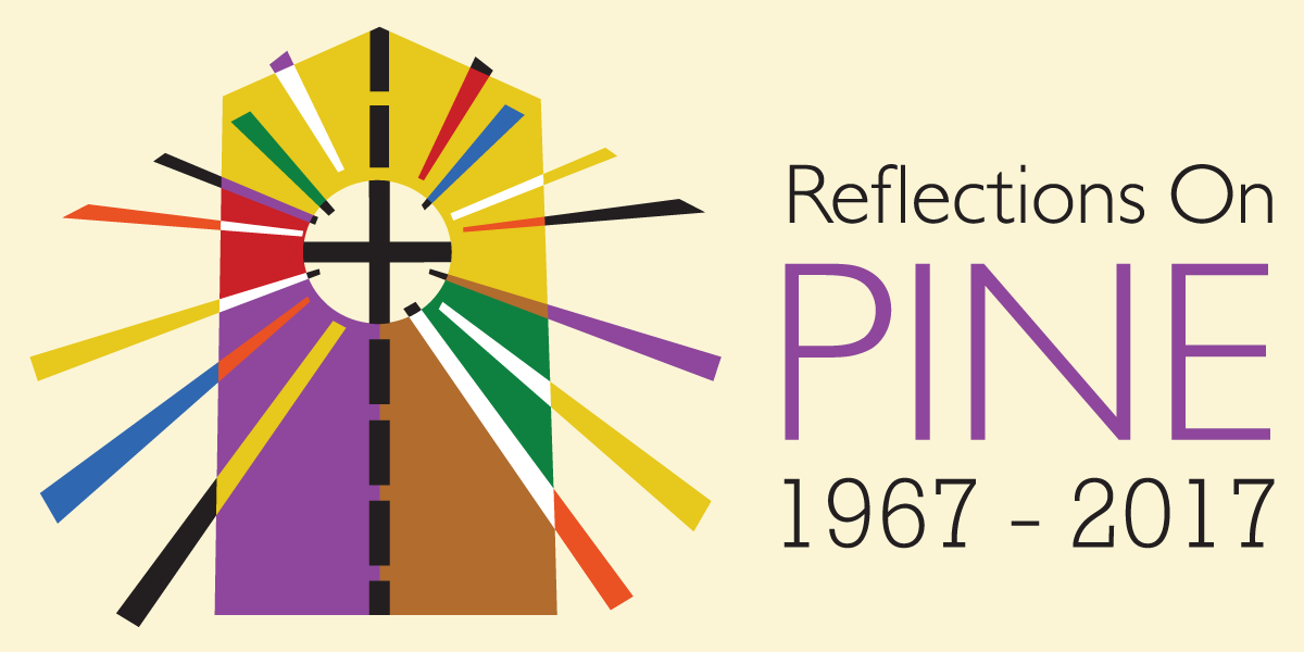 Reflections on Pine logo